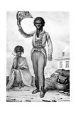 Bungaree, a Native Chief of New South Wales, Engraved by Charles Joseph Hullmandel, 1830 Giclee Print by Augustus Earle