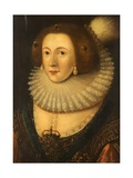 Portrait of a Lady, C.1600-35 Giclee Print by Marcus Gheeraerts