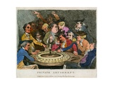 Private Amusement. Gambling Giclee Print