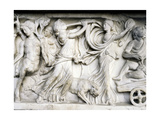 Sarcophagus Lavishly Decorated with Depiction of Dionysiac Procession Giclee Print