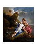 Acis and Galatea Giclee Print by Jean Francois de Troy