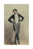 Footman Giclee Print by William Henry Hunt