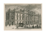 New Courthouse and Police Station on Bow Street Giclee Print