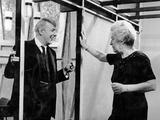 John Betjeman with Gracie Fields, 1960 Photographic Print