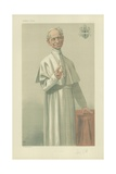 His Holiness Pope Leo Xiii Giclee Print by Theobald Chartran