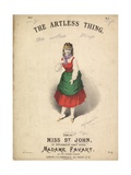 The Artless Thing Giclee Print by Alfred Concanen