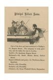 Principal Billiard Rooms Giclee Print