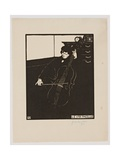 The 'Cello, from the Series 'Musical Instruments', 1896-97 Giclee Print by Felix Edouard Vallotton