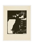 The Flute, from the Series 'Musical Instruments', 1896-97 Giclee Print by Felix Edouard Vallotton