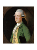 Portrait of Walwyn Graves of Mickleton Manor, Gloucestershire Giclee Print by Thomas Gainsborough