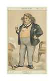 The Honourable Charles Sumner Giclee Print by Edward Frederick Brewtnall