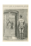 Convict Life at Wormwood Scrubs Giclee Print by Charles Paul Renouard