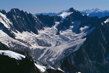 The Mont Blanc Massif Photographic Print