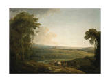 Exeter from Exwick, 1794 Giclee Print by Francis Towne