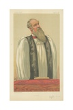 The Right Rev John Charles Ryle, Bishop of Liverpool, Liverpool, 26 March 1881, Vanity Fair Cartoon Giclee Print by Carlo Pellegrini