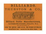 Advertisement for Thurston and Co Giclee Print