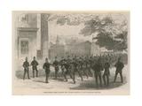 Metropolitan Police Learning the Cutlass Execise Giclee Print