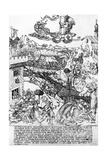 Saturn, C.1464 Giclee Print by Baccio Baldini