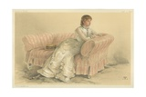 The Lady Florence Dixie Giclee Print by Theobald Chartran