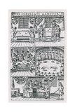 Illustrations from the Compleat Gamster Giclee Print