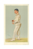 Mr C M Wells, Father, 10 July 1907, Vanity Fair Cartoon Giclee Print by Sir Leslie Ward