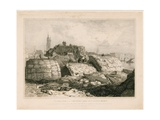 Part of Old London Bridge as it Appeared in June 1832 Giclee Print by Edward William Cooke