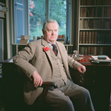 Evelyn Waugh, in His Study at Combe Florey, 1963 Photographic Print
