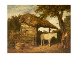 Rustic Shed, C.1800-47 Giclee Print by William Collins