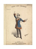 Moet and Chandon Giclee Print by Alfred Concanen