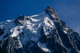 The Mont Blanc Massif, the Aiguille Du Midi Photographic Print