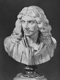 Bust of Jean-Baptiste Poquelin, known as Moliere, 1781 Photographic Print by Jean-Antoine Houdon