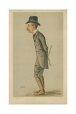 The Right Honourable Lord R H Spencer-Churchill Giclee Print by Liborio Prosperi
