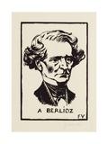 A Berlioz, 1891 Giclee Print by Felix Edouard Vallotton