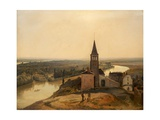 Near Rouen, 1817-28 Giclee Print by Richard Parkes Bonington