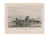 General View of Whittington's Alms Houses Giclee Print by Thomas Hosmer Shepherd