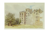 Hardwick Old Hall Giclee Print by William Henry Hunt