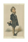 The Honourable Hamilton Fish Giclee Print by Edward Frederick Brewtnall