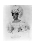 Tamehamalu, Her Majesty the Queen of the Sandwich Islands, 1824 Giclee Print by John Hayter