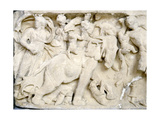 Detail of the Carved Relief on a Sarcophagus Giclee Print