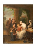 Charity, C.1780-1828 Giclee Print by William Redmore Bigg