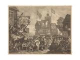 Southwark Fair Giclee Print by William Hogarth