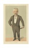 M Pierre Louis Albert Decrais Giclee Print by Jean Baptiste Guth