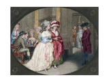 The Promenade at Carlisle House, 1781 Giclee Print by John Raphael Smith