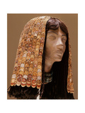A Headdress of a Queen or Lady of the Court of Thutmose III, from the Tomb of His Syrian Wife Giclee Print