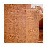The Gates of Ishtar at Babylon Which Were Constructed During the Time of Nebuchadnezzar II Giclee Print
