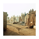 A Street in the Old Part of Kano, One of the Major Hausa-Fulani City States of Northern Nigeria Giclee Print