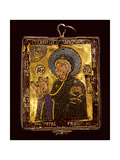 A Small Gold and Enamelled Reliquary Which Would Have Been Worn around the Neck to Protect the… Giclee Print