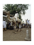 The Market Place at Sokoto, Capital of One of the Major Hausa-Fulani States on the Edge of the… Giclee Print