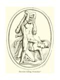 Hercules Killing Diomedes Giclee Print