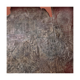 Relief Depicting Sennacherib Attacking a Walled City (Thought by Some to Be Jerusalem) Giclee Print